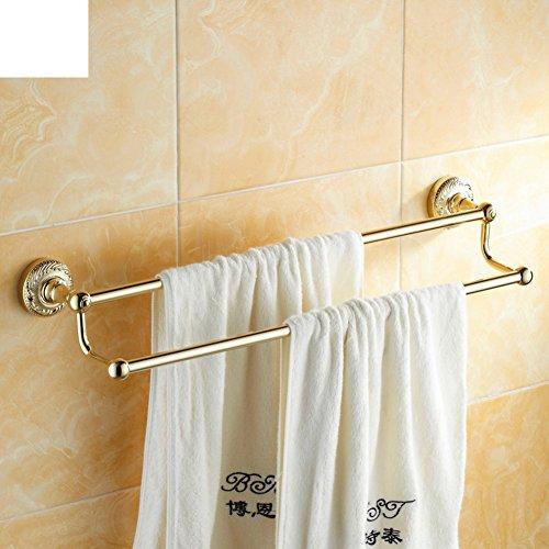 durable modeling Antique double Towel Bar/towel rack/Towel shelf /Bathroom racks/Bathroom Towel Bar-D