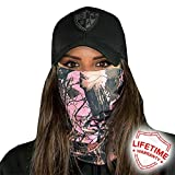 Face Shields for Women! SA CO Official Salt Armour Headbands (SA Pink Forest Camo)