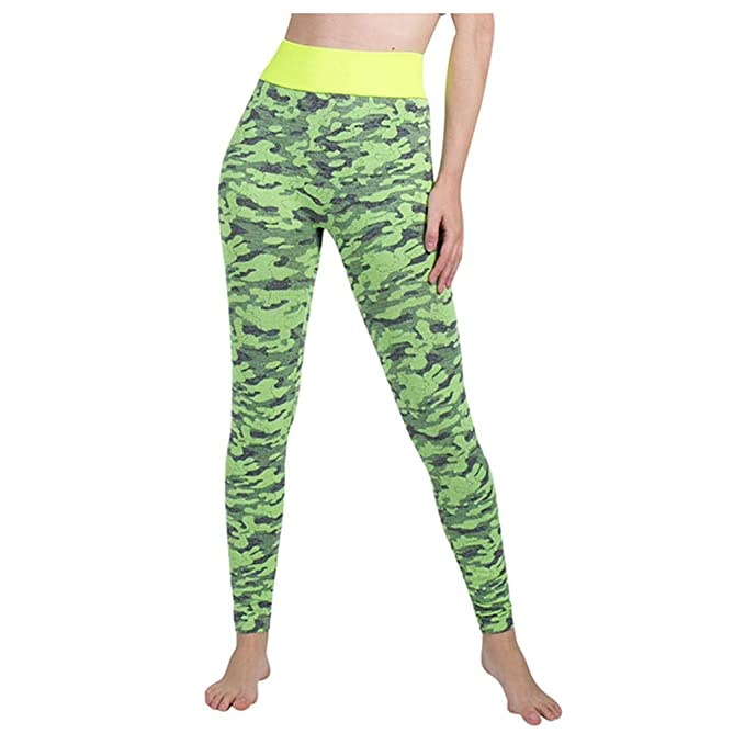 Buyaole Leggings Deporte Mujer, Pantalones Chandal Mujer ...