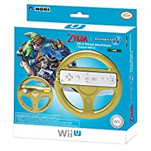 HORI Mario Kart 8 Racing Wheel (Link) for Nintendo Wii U and Wii