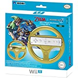 HORI Mario Kart 8 Racing Wheel Link for Nintendo Wii U and Wii