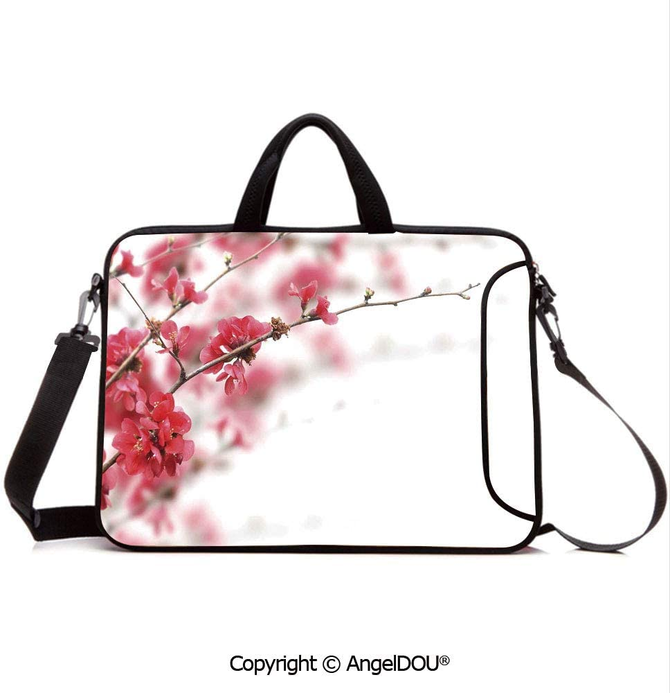 Baggage Covers Pink Sakura Flowers Japanese Washable Protective Case