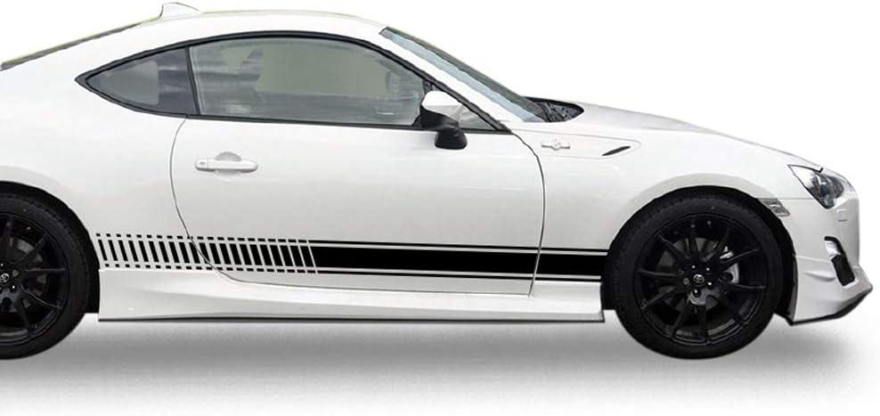 TOYOTA SPORT CAR SIDE STICKER X 2 WALL ART DECAL STICKER