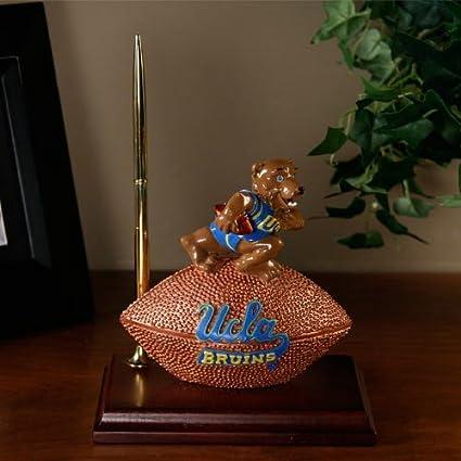 UCLA Bruins Mascot Football Clock//Pen