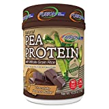 Fusion Plant Based Vegan Protein – Chocolate Peanut Butter, Best Pure Raw Complete Sports Performance Meal Replacement Shake, Gluten-Free, Sugar-Free, 12 Servings, By Fusion Diet Systems