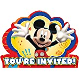 Amazon Com Mickey Mouse Invitations Cards Party Supplies