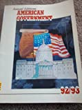 American Government 1992-1993, , 1561340782