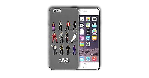 Amazon.com: Funda Rígida Diseño de Michael Jackson para ...