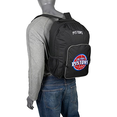 Concept One 804371056600 Detroit Pistons Southpaw Backpack-NBA