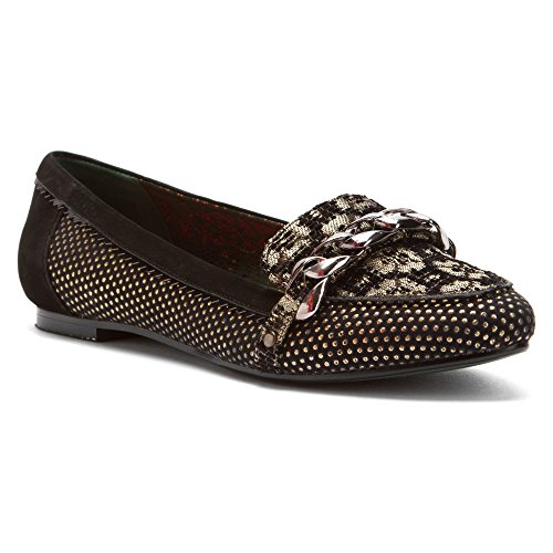 Poetic Loafers Licence Shoes Womens Poetic Alive Licence Sakes Black Womens Sakes qAawP8ft