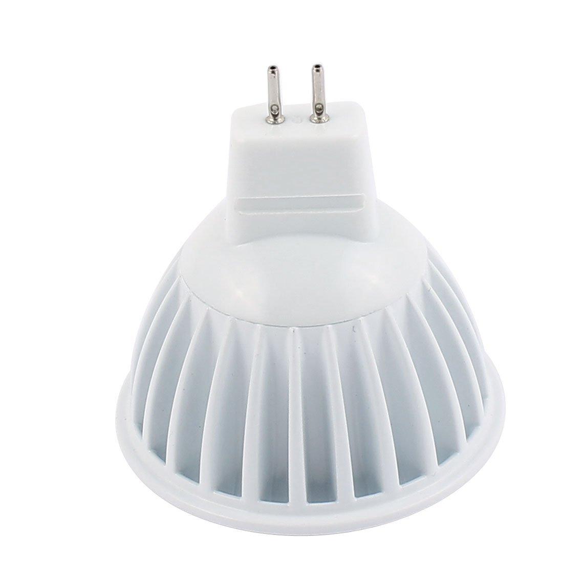 eDealMax DC12V MR16 5W COB Reflector LED bombilla de la lámpara empotrada pura práctica Blanca - - Amazon.com