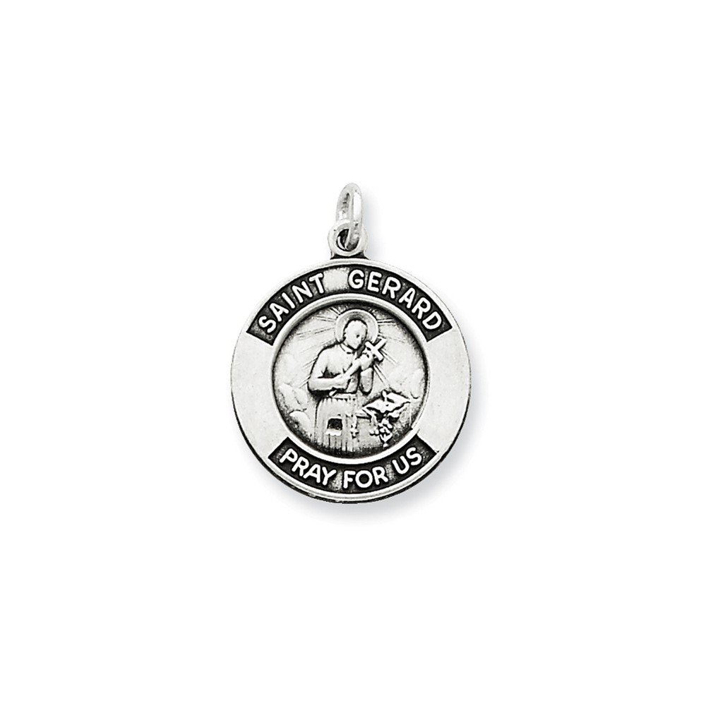 18 or 20 inch Rope Rembrandt Charms Sterling Silver LVN Charm on a 16 Box or Curb Chain Necklace
