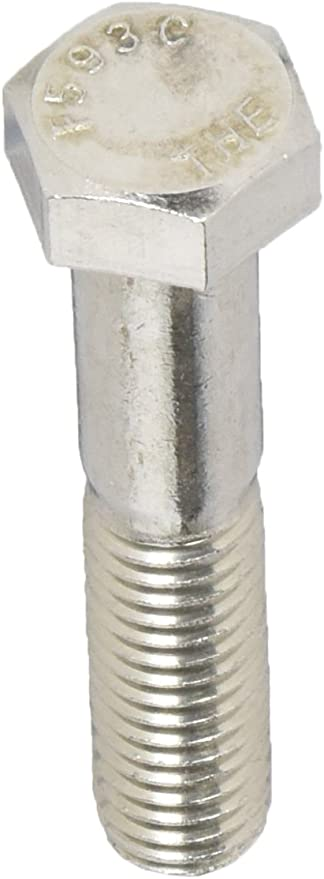 50-Pack The Hillman Group 831716 1//2-13 x 1-Inch Stainless Steel Hex Cap Screw
