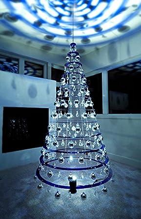Shark Tank Christmas Tree Lights.Modern Christmas Trees 7 5 Hanging Blue Artificial Christmas Tree
