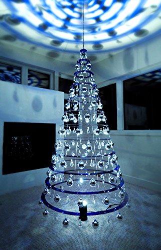 Modern Christmas Trees.Modern Christmas Trees 7 5 Hanging Blue Artificial Christmas Tree