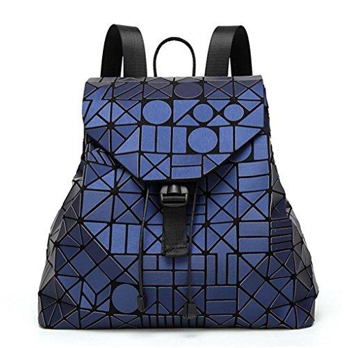 Geometric Kaoling Backpack Package Blue Surface Women Matte White Bag Famous Color Backpack 12 Student Packback Deep Backpack Logo Y7FYxwqr