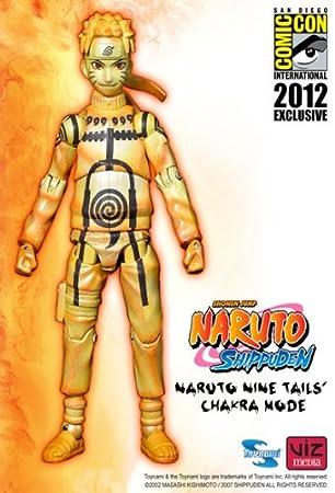 amazon com naruto shippuden naruto nine tails chakra mode action