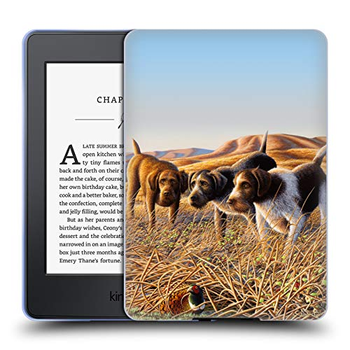 Official Chuck Black The Perfect Trio Wildlife and Animals Soft Gel Case for Amazon Kindle Paperwhite 3