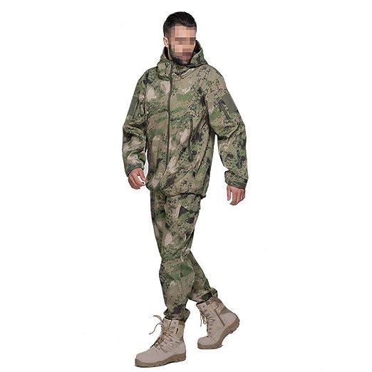MLMHLMR Camuflaje Chaqueta de Entrenamiento Uniforme Caza ...