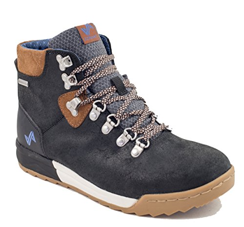 Forsake Patch - Women's Waterproof Premium Leather Hiking Boot (7, Black/Tan) by Forsake (Image #1)