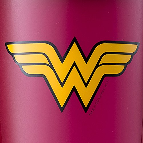 BlenderBottle Justice League Superhero Classic 28-Ounce Shaker Bottle, Wonder Woman