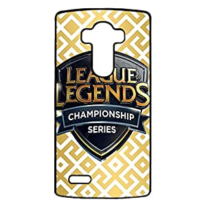 Fashion Classic Cover Case,Fashion Luxury League of Legends Logo Phone Case for LG G4 (LOL)