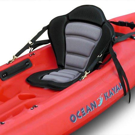 GTS Elite Molded Foam Kayak Seat- No Pack, Sit On Top Kayak Seat, Surf To Summit Kayak Seat, Ocean Kayak Seat