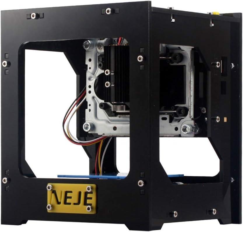 Baugger Máquina De Grabado   Dk-8Pro-5 500Mw Mini Usb Lá-Ser Grabador Carver Grabado Diy Automática Máquina Off-Line Operación De La Impresora Con Gafas De Protección