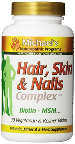 Michael's Naturopathic Progams Hair, Skin and Nails Complex Supplements, 90 Count