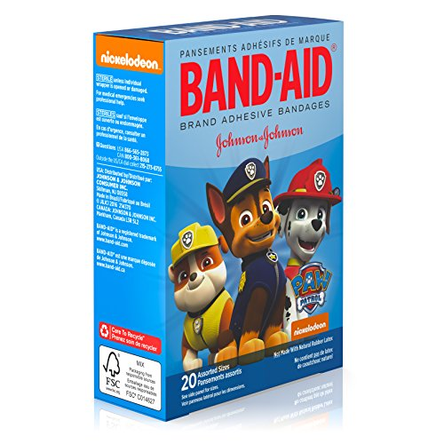 Health And Beauty Aids: Band-Aid Brand Adhesive Bandages Featuring Nickelodeon Paw