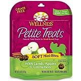 WELLPET 76344890775 Wellness Petite Soft Mini Lamb/Apple/Cinnamon Treats for Dogs, 6-Ounce, My Pet Supplies