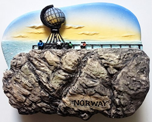 Midnight Sun North Cape NORWAY High Quality Resin 3D fridge Refrigerator Thai Magnet Hand Made Craft.