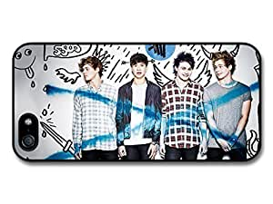 Accessories 5 Seconds Of Summer Blue Cross Boyband Case For Sam Sung Note 3 Cover