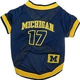 NCAA Dog Jersey, Small, University of Michigan Wolverines, My Pet Supplies