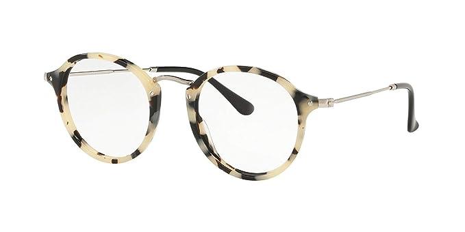 Ray-Ban 0RX2447V Monturas de gafas, Beige Havana, 47 para ...