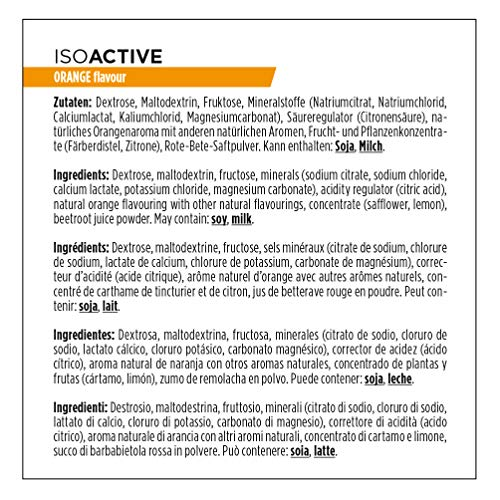 Powerbar Isoactive Suplemento, Sabor Orange - 600 gr: Amazon.es: Salud y cuidado personal