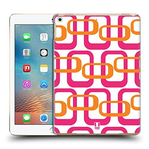 Head Case Designs Pink Orange Mod Patterns Hard Back Case fo