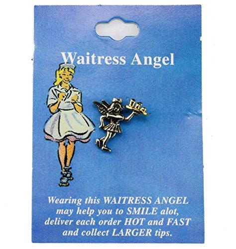- Sujak Military Items Waitress Angel Hat Lapel Pin