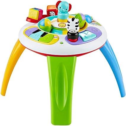 Fisher-Price - Silly Safari Musical Activity Table (Mattel DGT86): Amazon.es: Juguetes y juegos