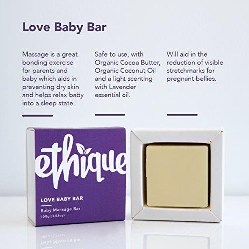 Ethique Eco-Friendly Baby Massage Bar, Love Baby Bar 3.53 oz by Ethique (Image #6)