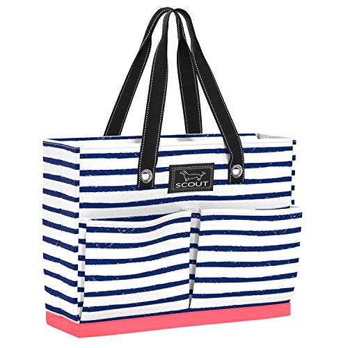 SCOUT UPTOWN GIRL Medium Tote Bag for Women, Lightweight Utility Tote Bag with Pockets and Zippered Closure, Perfect Teacher Tote Bag or Nurse Tote Bag (E Teacher)