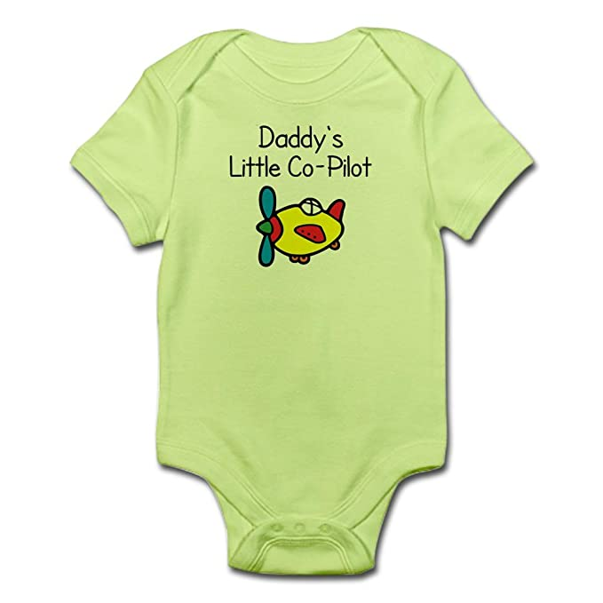 Amazon cafepress daddys little co pilot baby bodysuit cute amazon cafepress daddys little co pilot baby bodysuit cute infant bodysuit baby romper clothing negle Images