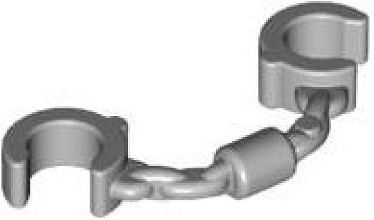 LEGO Handcuffs Minifigure Accessory