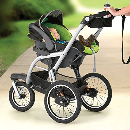 Image of the Chicco TRE Performance Jogging Stroller, Surge