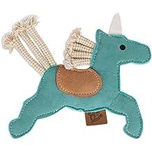 MuttNation Fueled by Miranda Lambert Faux Suede Dog Toy - Unicorn