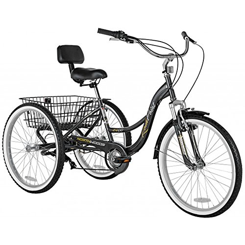 Northwoods Rock Point Adult Trike, 24-Inch