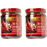 Lee Kum Kee Chiu Chow Chili Oil net wt. 205g (7.2oz) Pack of 2