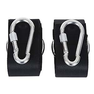 Songmics correas de sujeci n cintur n accesorios de hamaca con ganchos cuerdas multifunciones - Accesorios para hamacas ...