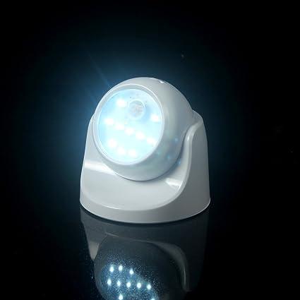 ledemain - Luz de noche con sensor de movimiento de 360 grados, compuesta por 10