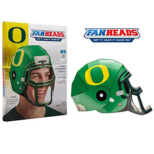 Fan Heads 07694-PDQ Oregon Ducks Helmet]()